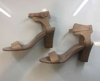 MNG Nude Strappy Heels