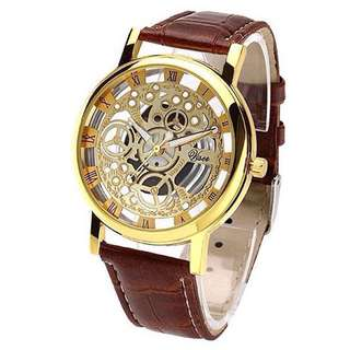 Mechanical Hollow Quarts Watch UNISEX! SALE 60%OFF!!!