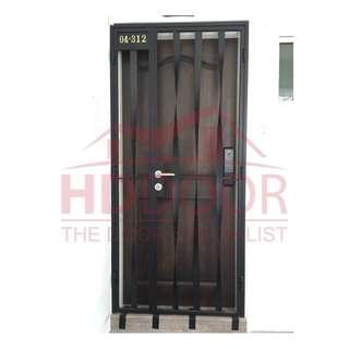 Mild Steel HDB Gate