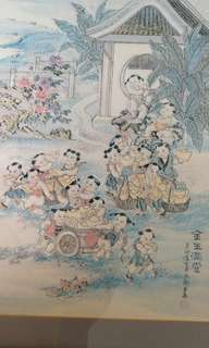 画#金玉满堂Drawing Painting Wealth and Children Abundance