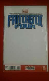 Fantastic Four #1 Blank