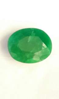 Certified Natural Green Emeralds Stone
