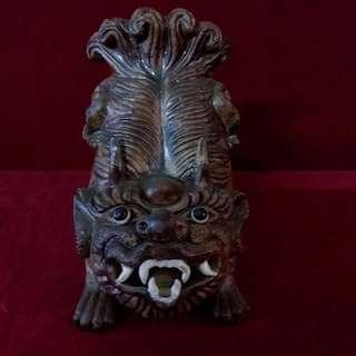 古瓷祥兽筷子筒