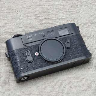Leica M5 Black Chrome