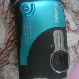 Waterproof camera Canon