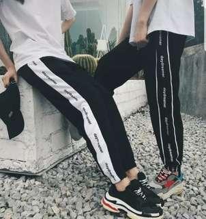 Daydreamer Stripes Couple Unisex Sweatpants