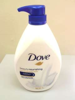 Dove beauty nourishing body wash
