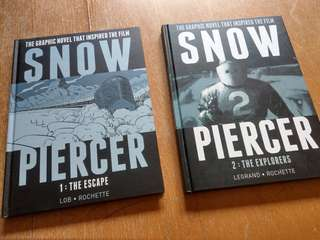 Snow Piercer Comic Vol. 1 & 2 (Hardcover, English)
