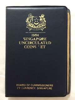 1984 Singapore Uncirculated Coins Set