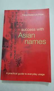 Success with Asian Names