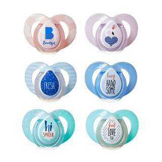 Tommee Tippee 6-18m Moda Soothers (Assorted Colours)