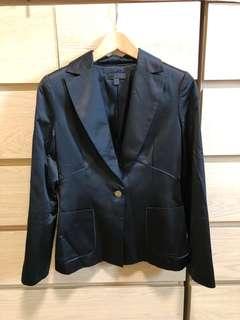🚚 MANGO 霧面緞布西裝外套/OL外套/女用西裝外套