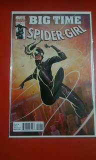 Big Time Spider-Girl #1 Incentive Michael Del Mundo Variant