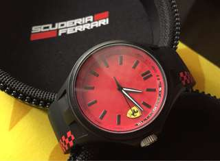 Ferrari Scuderia Sports Watch Analog Quartz