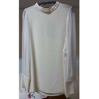 STELLA McCARTNEY Cream Blouse (New)