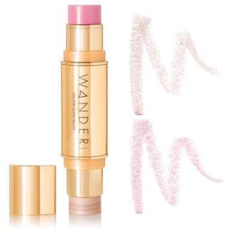 On-The-Glow Blush and Illuminator - Soft Pink/ Nude Glow