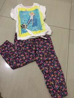 Preloved Mothercare Top and Pants