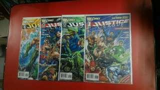Justice League #1-4
