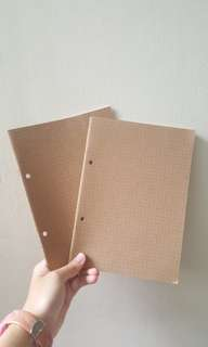 Muji A5 grid notebook