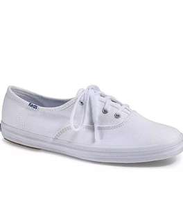 Keds Original's white canvas sneaker