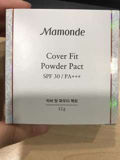 Mamonde Cover Fit Powder Pact SPF 30 in #21 Natural Beige