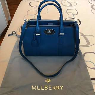 6d113f20f4 Mulberry Small Bayswater Double Zip Tote