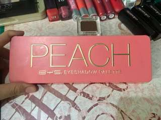 BYS Peach Eyeshadow Palette