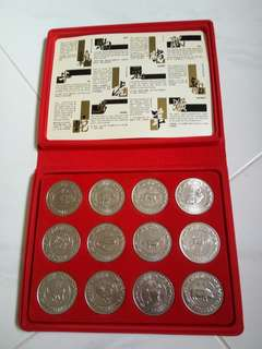 $10  Zodiac coin set (1981 - 1992 )