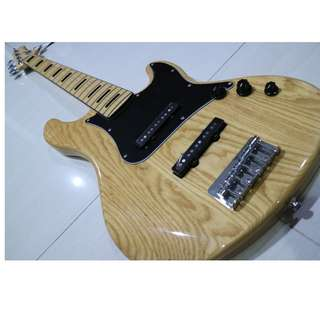 Cort GB55JJ 5-String Jazz Bass (Natural) Swamp Ash - Like NEW!!