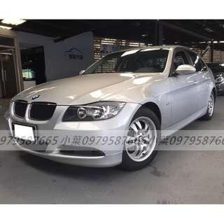 專辦全額貸 零元可交車 2005 BMW 320 2.0 銀色 自排