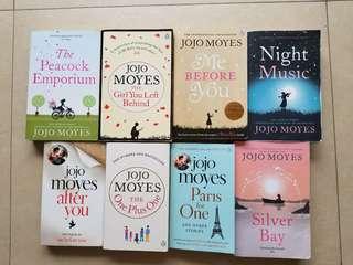 英文小說 Jojo Moyes Novels