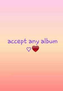(KOREAN PURCHASE) KPOP ALBUM