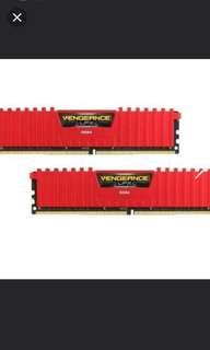 16 GB Corsair Vengeance (2133 mhz) LPX DDR4 RAM