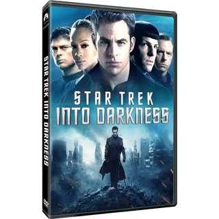 BRAND NEW DVD - STAR TREK INTO DARKNESS (ORIGINAL USA IMPORT CODE 1)