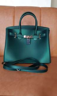 Beachkin bag emerald green