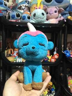 Small blue toy with wings