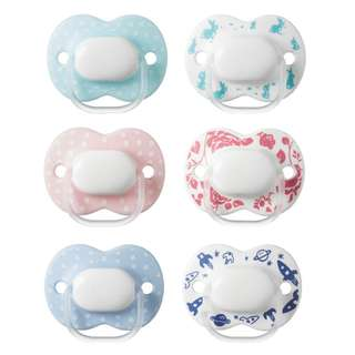 Tommee Tippee Little London 0-6m Soothers (2 pack)