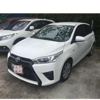 2016 Toyota Yaris 1.5 白 FB收尋:小馬愛車