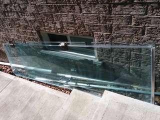 Glass shower stalls (2 Pieces)(Read Info)