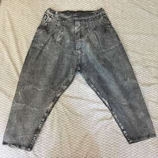 Low Crotch Jeans