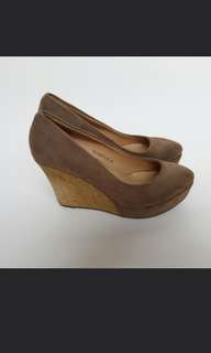 The Little Things She Needs Brown Closed Toe Wedges