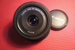 Lensa Fix Canon 40mm f2.8 STM RUSAK!!