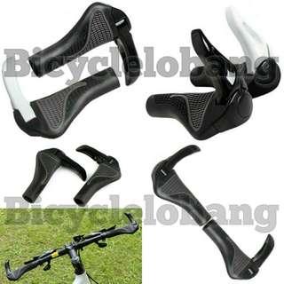 Bicycle Handlebar Grip (Ox Horn Shape Plastic)