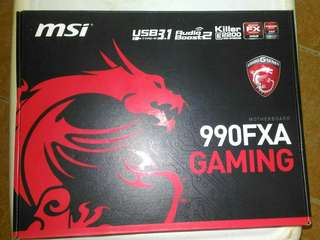MSI 990FXA GAMING MOTHERBOARD