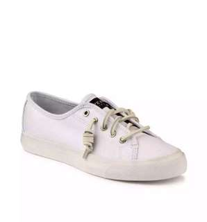 Sperry Seacoast Canvas White