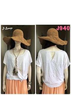 🚚 J940全新美國Terrace純棉蕾絲休閒衫 shirt J-Lounge