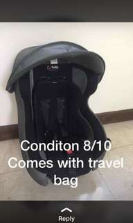 Combo stroller and carseat