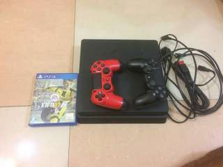 Ps4 Slim 500gb 2x controller