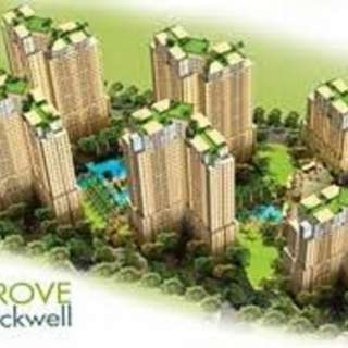 The Grove by Rockwell, Studio-type Condo for Rent, CRD10057