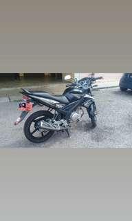 2013 Yamaha Fz150 Fz150i MILEAGE RENDAH
